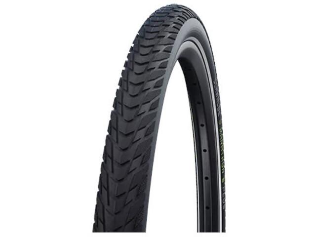 """SCHWALBE Marathon E-Plus Perform Clincher Tyre 27.5x2.00"""" Smart DualGuard E-50 Addix E Reflex black"""